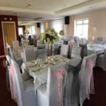 our function room decorated for a wedding