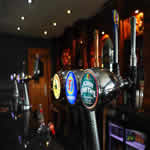our fully licensed bar with selection of drinks